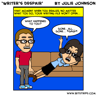writer's despair