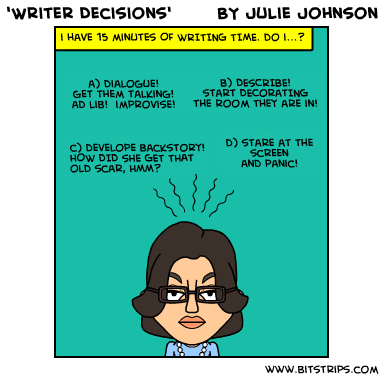 writer decisions
