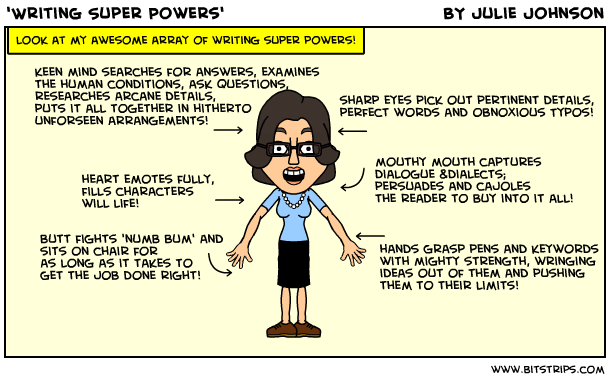 writing super powers