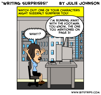 writing suprises pic
