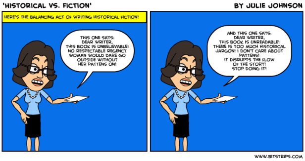 historical vs fiction