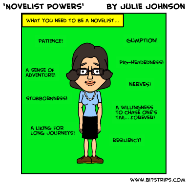 novelist powers