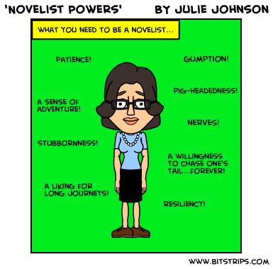 novelist powers